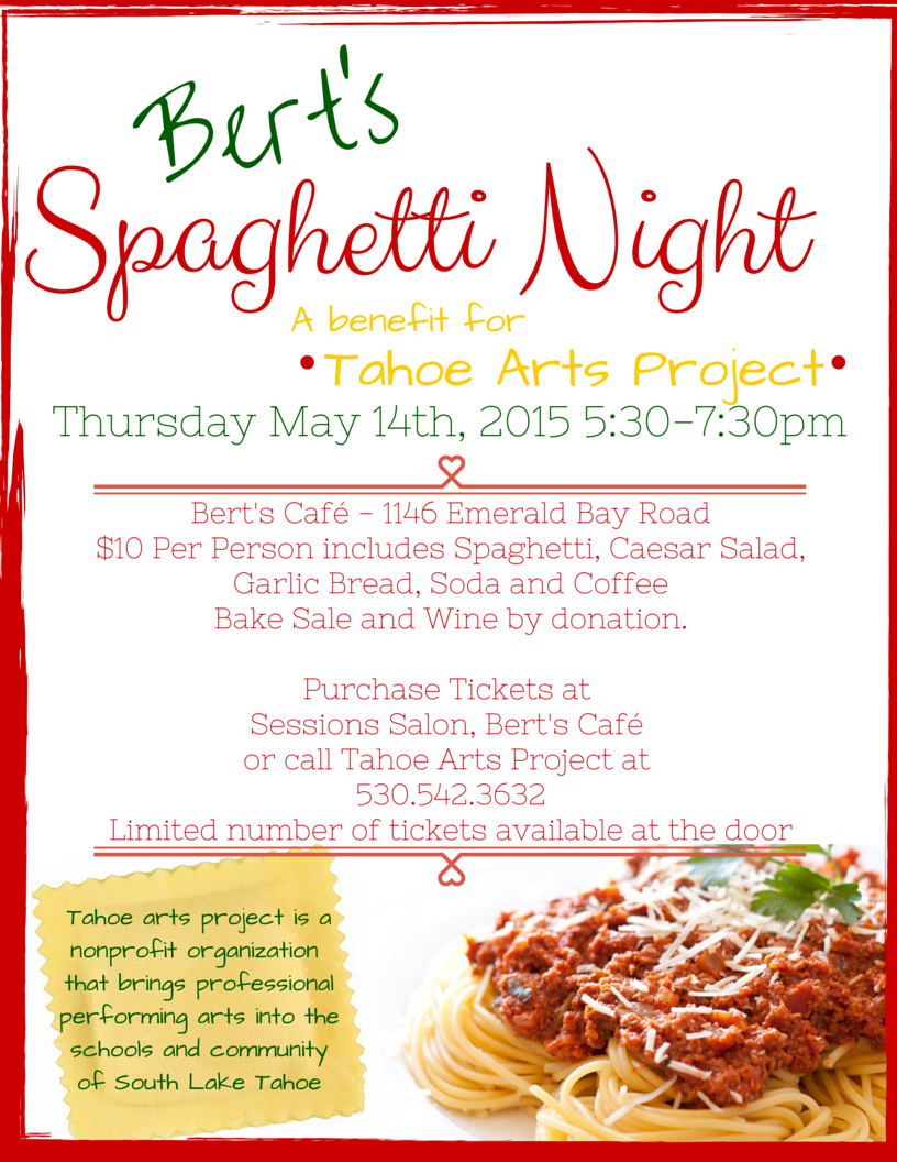 Bert's Spaghetti Night