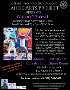 Audio Threat Poster