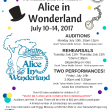 Missoula Children's Theatre in Alice and Wonderland- Summer Session